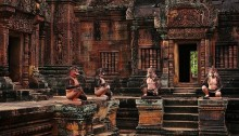 Banteay Srei, Cambodia by Yang