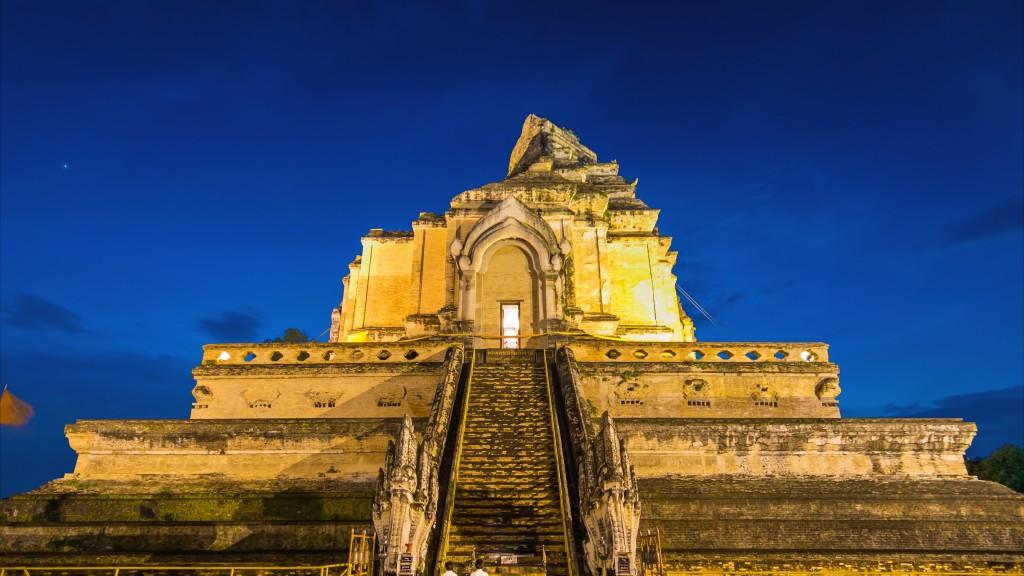 Wat Ched Luang Pagoda