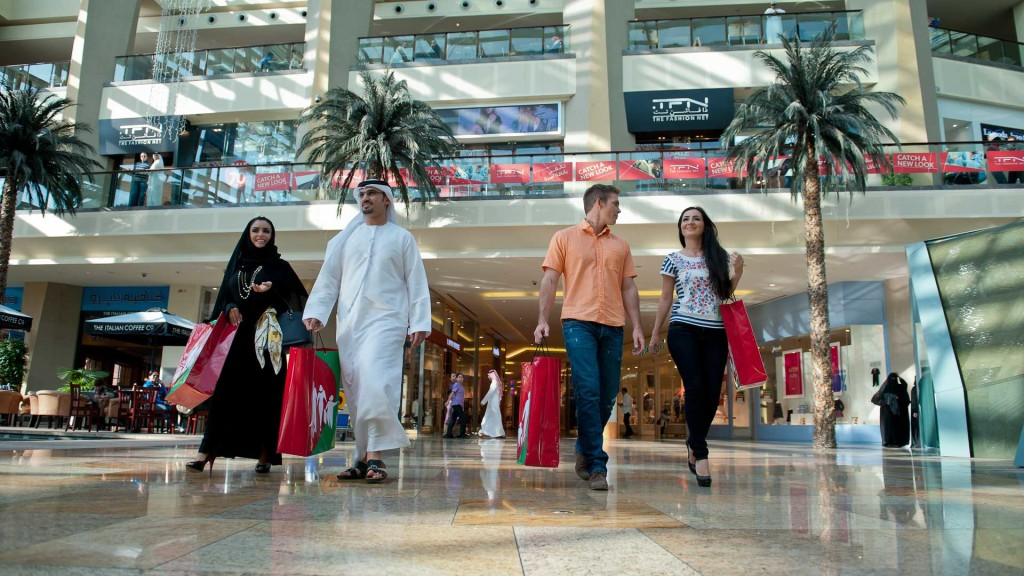 Shopping at Dubai