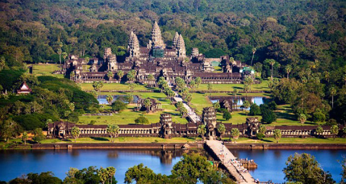The Temple of Angkor Wat, Cambodia