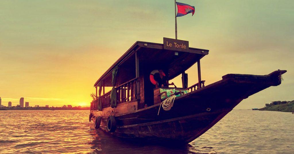 Le Tonle Cruise in Cambodia