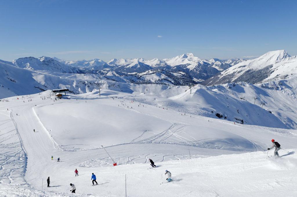 Les Portes du Soleil, France-Switzerland